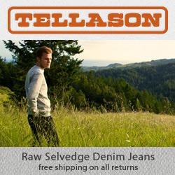Tellason - Raw Selvedge Denim