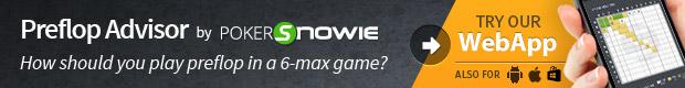 Preflop Advisor powered by PokerSnowie