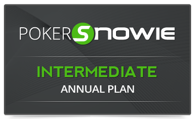 Pokersnowie subscription INTERMEDIATE annual