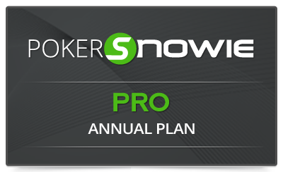Pokersnowie subscription PRO annual
