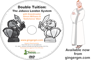 The Jobava London System from Ginger GM